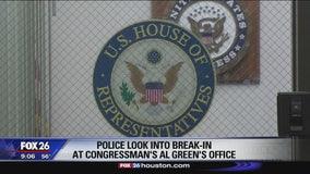 Burglars cut hole into U.S. Rep. Al Green's office