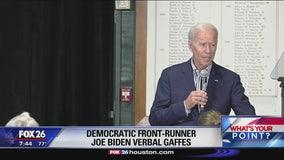 Candidate Biden more gaffes