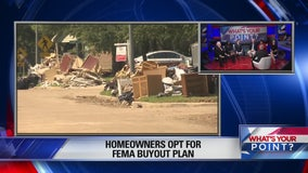 Homeowners opt for FEMA buyout plan What's Your Point?  November 26, 2017