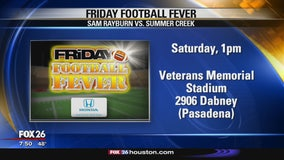 Friday Football Fever Pasadena and Humble