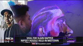 Vigil held for rapper Nipsey Hussle