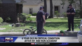 Boy, 6, struck by vehicle