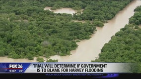 Trial will determine if government is to blame for Harvey flooding