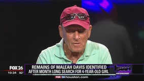 Tim Miller gets emotional discussing how Maleah Davis' remains were found