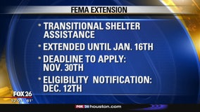 FEMA disaster recovery deadlines extended