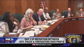 Day 2 of mediation between city, police and firefighters over Prop B