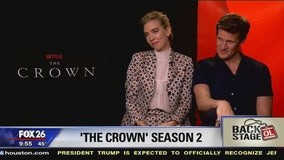 Go Backstage - 'The Crown' Interview (Matt Smith & Vanessa Kirby)