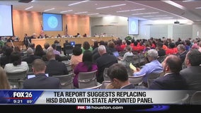 TEA report suggests replacing HISD board with state-appointed panel