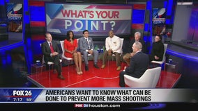 Addressing gun control and/or mental health issues What's Your Point