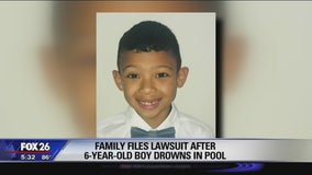 Family files lawsuit after 6-year-old boy drowns in community pool