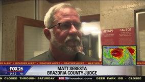 Evolution of Brazoria County voluntary evacuations