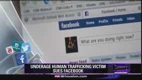 Underage human trafficking victim sues Facebook