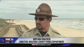 Fecal bacteria reported at Brazoria County beaches