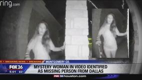 'Mystery' woman in video identified