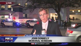 Injured officers taken to Memorial Hermann Hospital