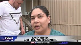 Woman thankful to Brookshire volunteer firefighters
