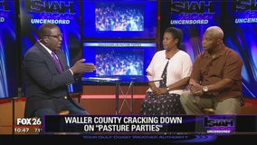 Waller County cracking down ob pasture parties