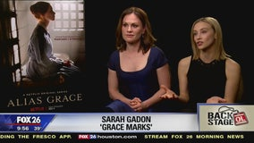 Go Backstage - 'Alias Grace' (Anna Paquin & Sarah Gadon)