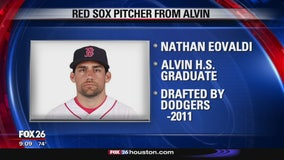 Boston Red Sox pitcher with roots in Alvin