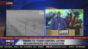 Neighborhoods affected by reservoir releases
