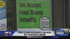 Food stamp recipients can now buy groceries online