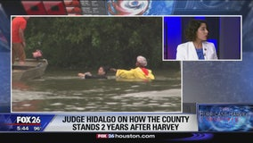 Judge Lina HIdalgo on how the county stands 2 years after Harvey
