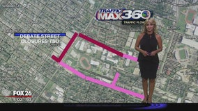 Closures, Democratic debate at Texas Southern University could affect your route