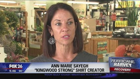 'Kingwood Strong' t-shirts help teachers