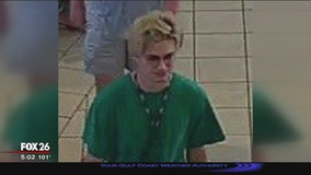 Video released of person of interest that caused panic at Memorial City Mall