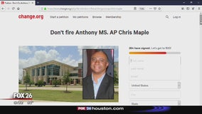 Petition asks for asst. principal not to be fired