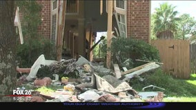 Family gives look inside the home where a truck crashed all the way through
