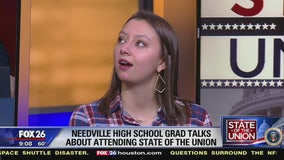 Needville HS student back from SOTU
