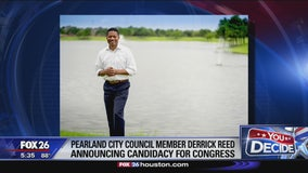 Derrick Reed announces candidacy for Congress