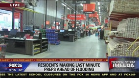 Residents making last minute preps ahead of flooding