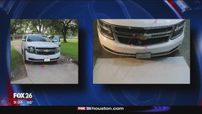 Brazoria County Sheriff's Office releases photos of bullet-riddled patrol vehicle