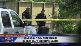 12-year-old arrested for shooting 10 year old