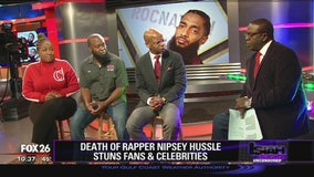 Death of Nipsey Hussle stuns fans and celebrities
