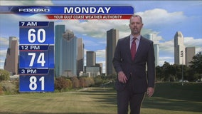 Meteorologist John Dawson FOX 26 News has YOUR GULF COAST WEATHER AUTHORITY Facebook Forecast for MONDAY