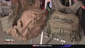 Bulletproof school supplies being sold in Katy