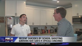 Recent suicides by school shooting survivors have Santa Fe officials concerned