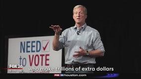 Billionaire Tom Steyer announces bid for president