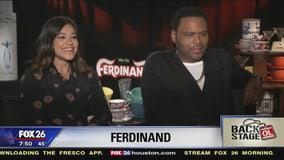 Go Backstage - 'Ferdinand' (Gina Rodriguez & Anthony Anderson)