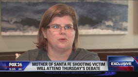 Mother of Santa Fe shooting victim to attend Thursday's debate