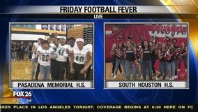 Pasadena Memorial and South Houston High schools show their spirit