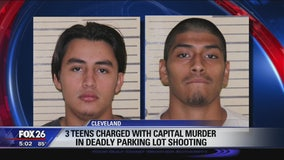 3 teens charged with capital murder in deadly Cleveland parking lot shooting