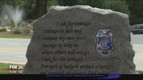 "City scrubs out references to ""Lord"" on memorial for fallen officers"