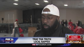 Trae Tha Truth helps families after deadly fire