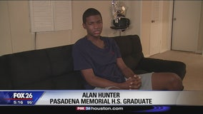 Graduate describes chain reaction school bus crash