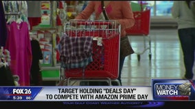 "Target holding ""Deals Day"" to compete with Amazon Prime Day"