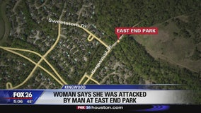 Woman says she was attacked at Kingwood park